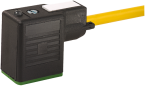 MSUD valve plug BI-11mm 180° with cable