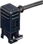 Valve plug MJC 90° with cable LED+VDR