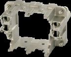 B6 frame (female) for 2 modules