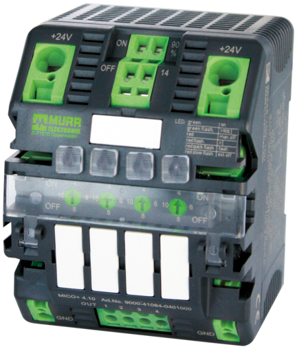 MICO+ 4.4 electronic circuit protection, 4 CHANNELS